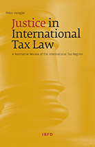 Hongler, Justice in International Tax Law